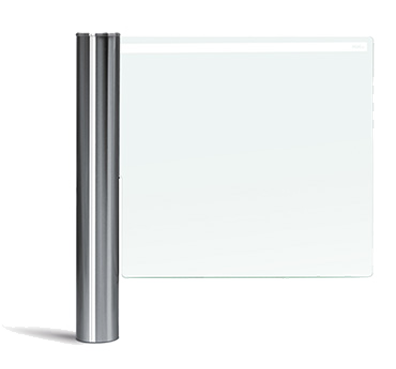 Motorisierte Schwenktür aus Glas SWING GATE 06