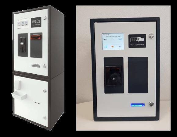 Kartenausgabeautomat für Münzen, Banknoten und Giro-Karten