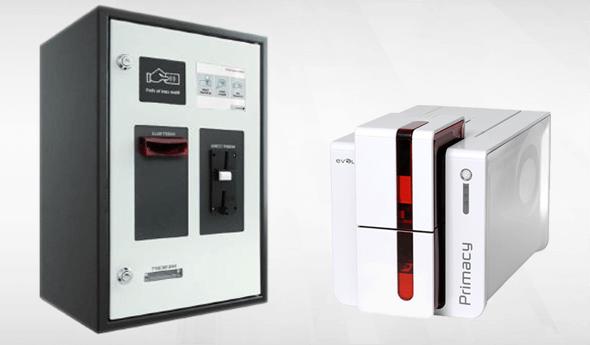 Kartendrucker und Automaten zur Kartenaufladung