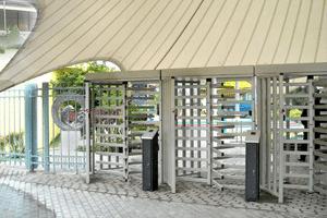 Drehkreuz für Schiwmmbad / Freibad