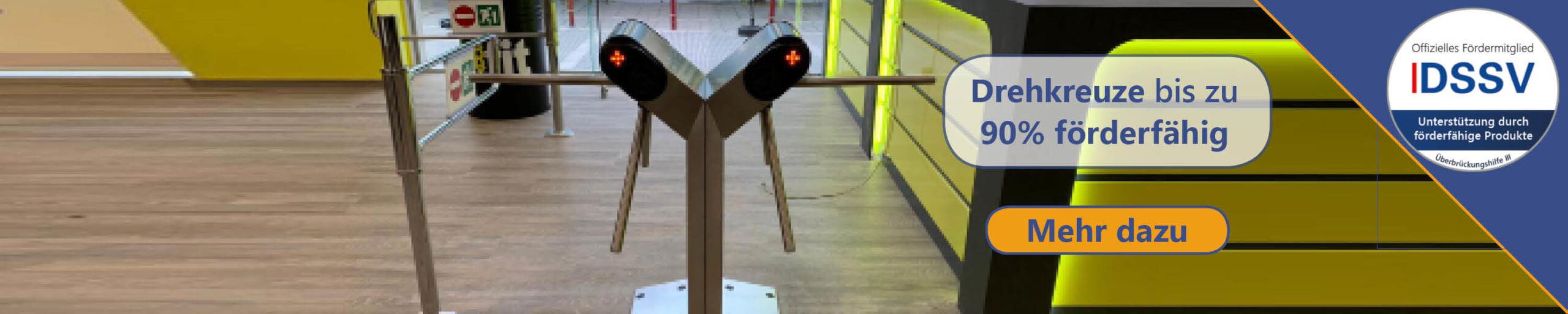 Drehkreuze für Fitnessstudios